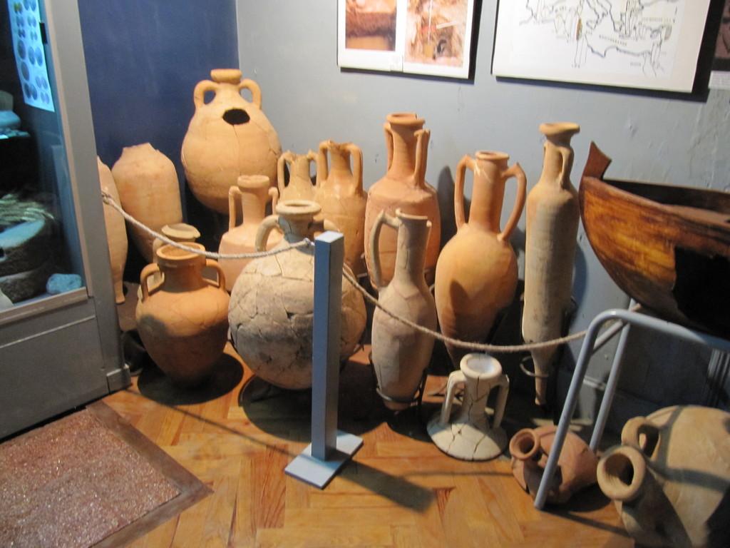 Musée d'Eysses : les amphores gallo-romaines