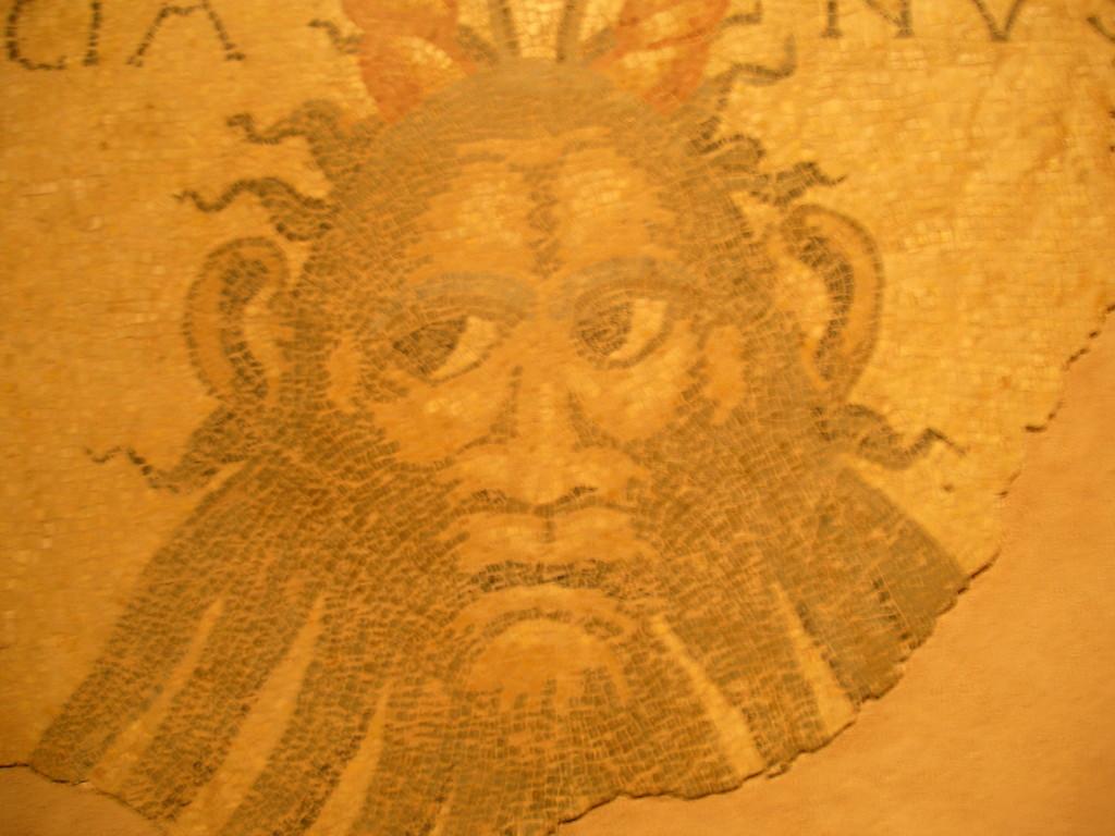 Lectoure : une mosaïque du musée