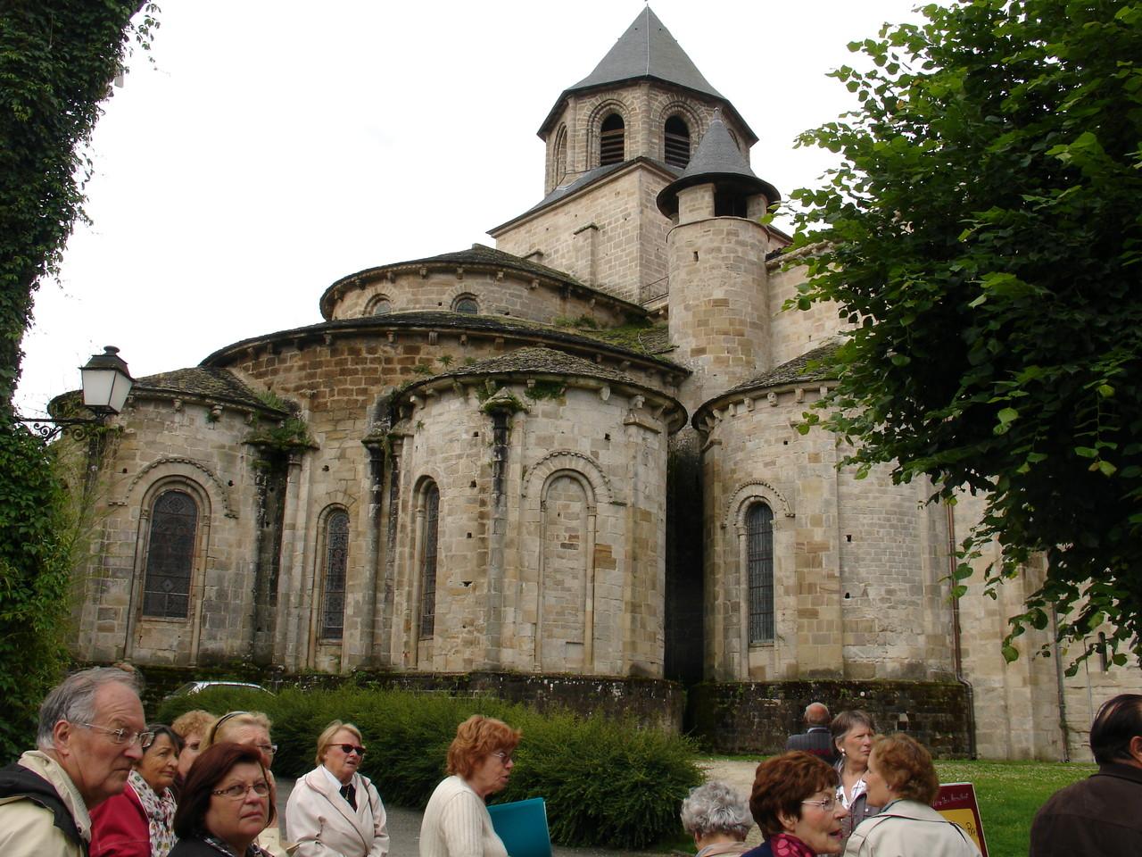 Beaulieu-sur-Dordogne : chevet de l'abbatiale Saint-Pierre