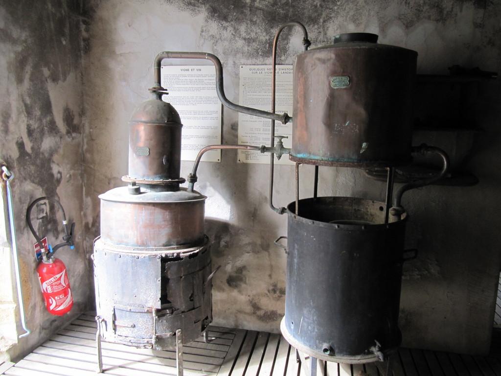 Musée de la Chalosse à Monfort : un alambic