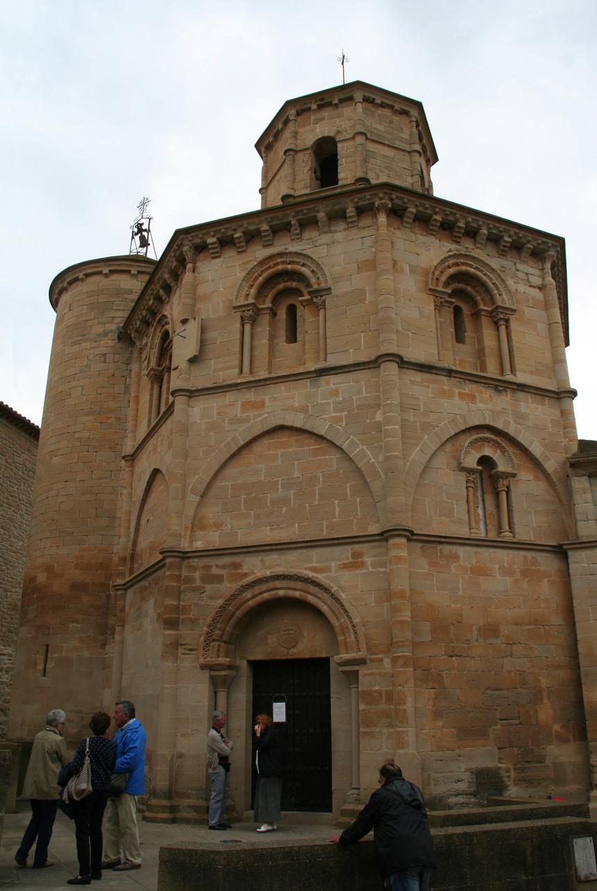 Torres del Rio: l'église du Saint Sépulcre