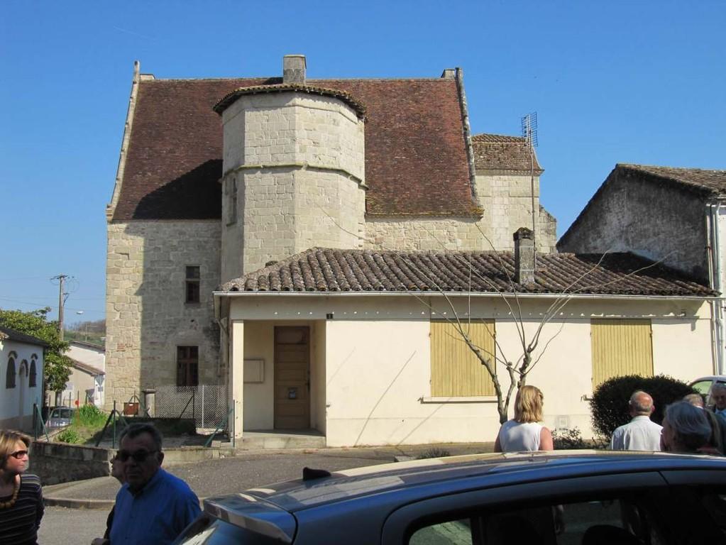 Gontaud-de-Nogaret : le château