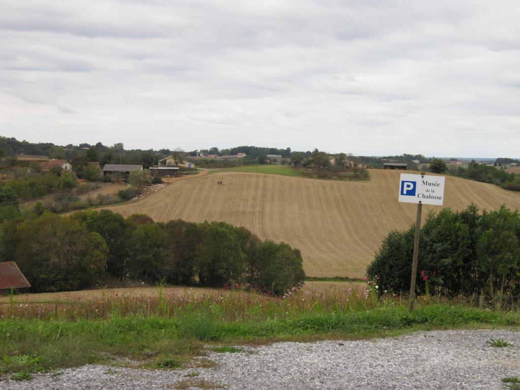 Musée de la Chalosse à Monfort : les collines de Chalosse