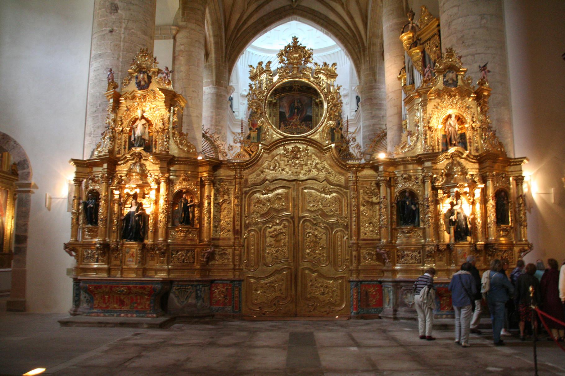 Yuso: monastère de San Millán de la Cogolla ( l'ancien chœur )
