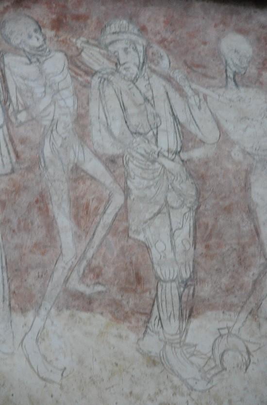 La Chaise-Dieu: Danse Macabre (détail)