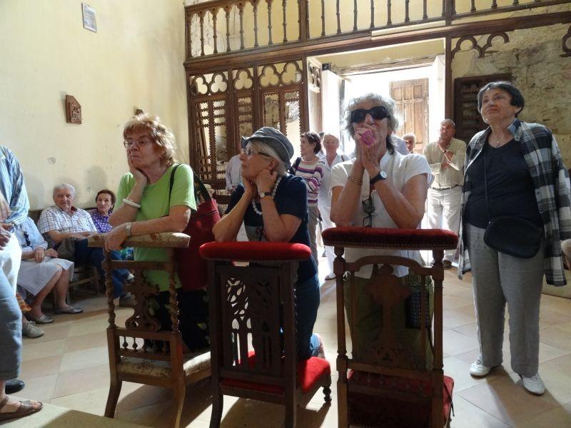 Castrum de Pommiers: oraisons dans la chapelle