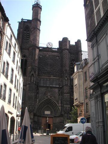 La cathédrale de l'Assomption à Clermont-Ferrand