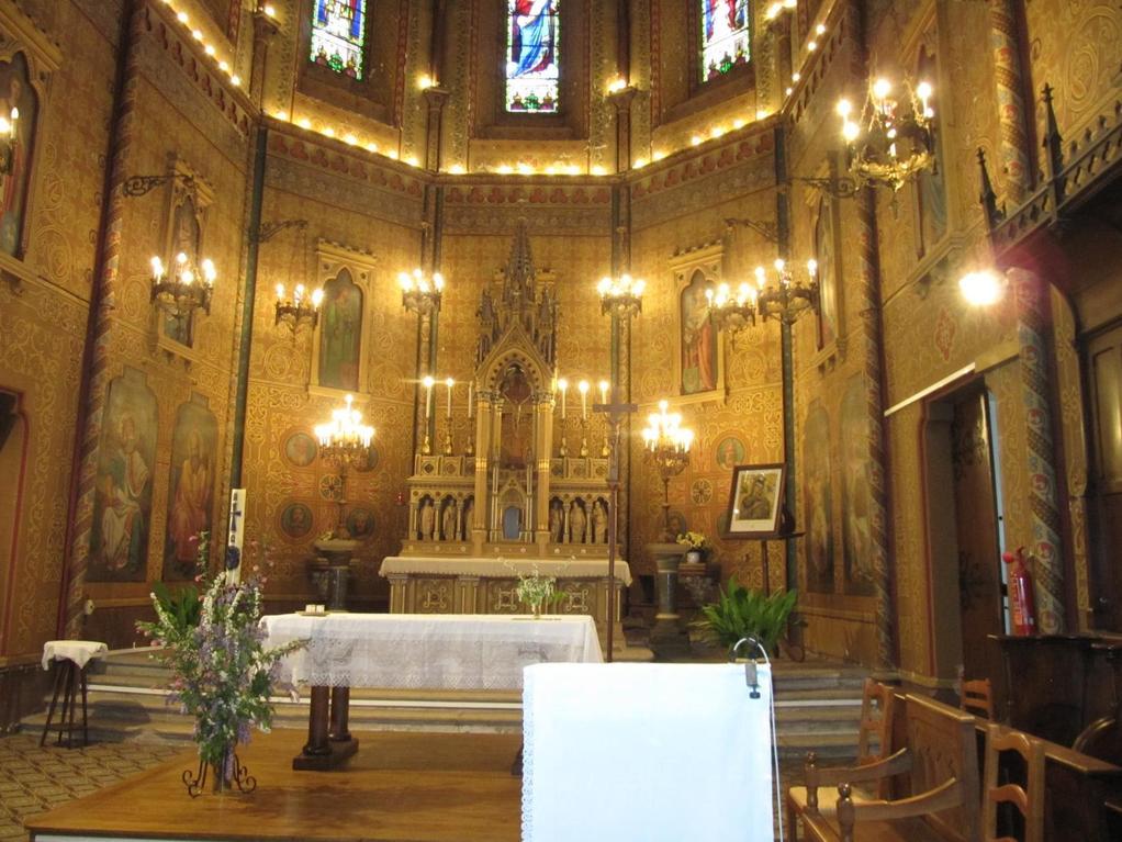 Castelmoron : choeur de l'église