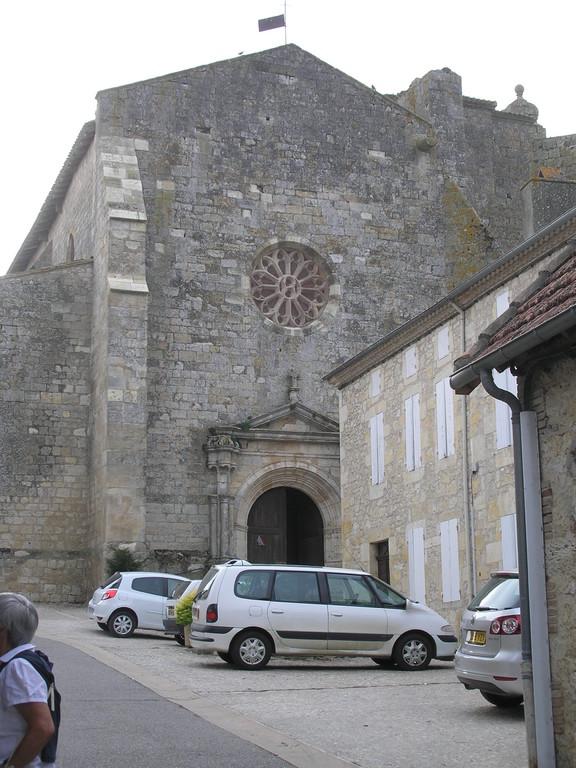 Miradoux : l'église
