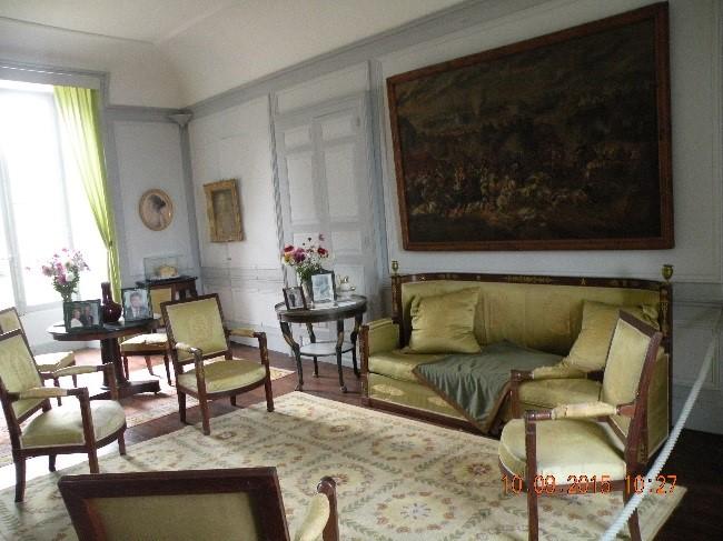 Château de Montréal: le salon du 18è siècle