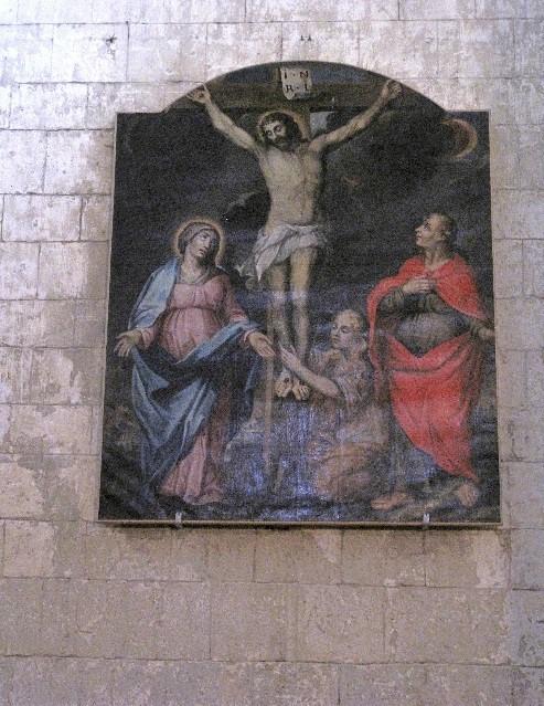 Le Mas d'Agenais: Christ en croix de Rembrandt