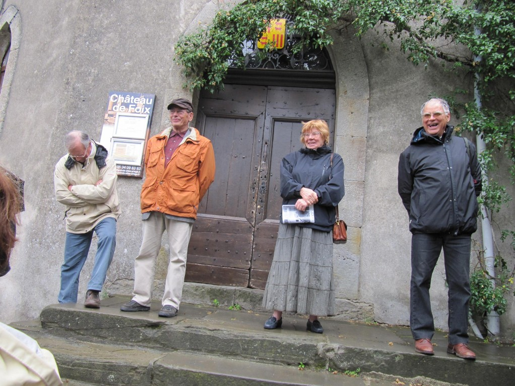 Foix : à la porte du château...