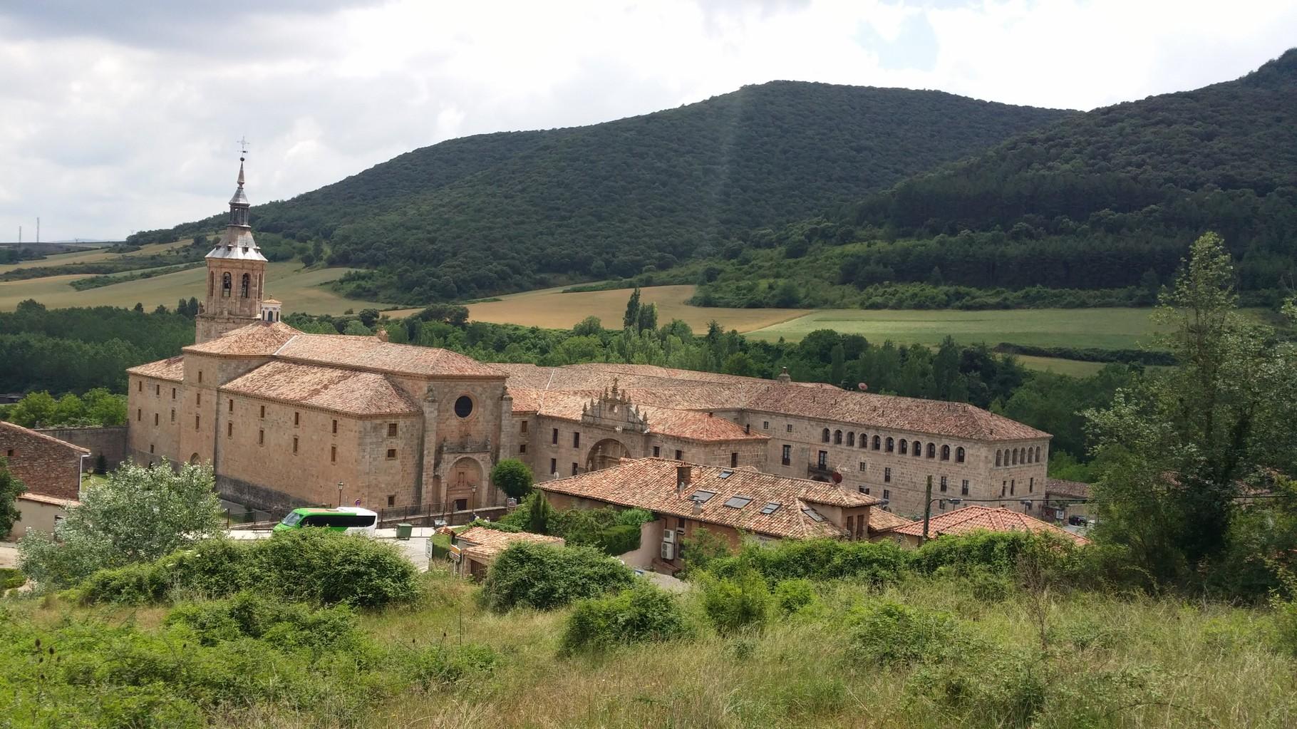 Yuso: monastère de San Millán de la Cogolla ( vue générale )