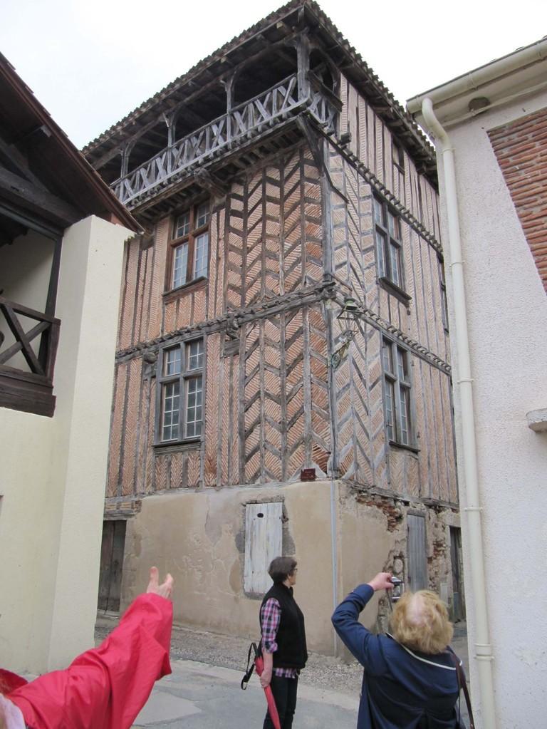 Clairac : la maison de Montesquieu