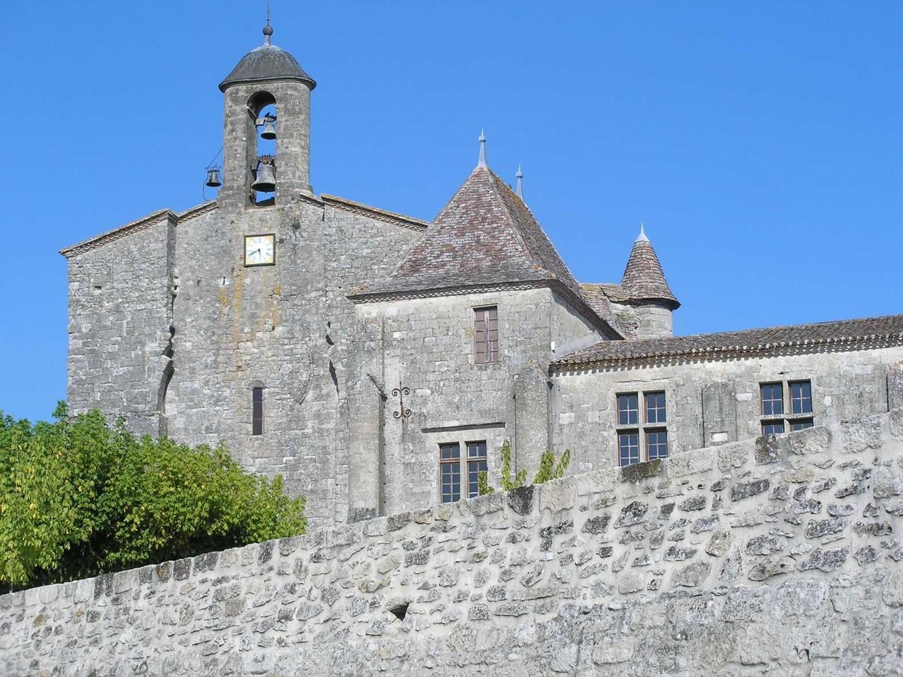 Saint Ferme : vue générale de l'abbaye