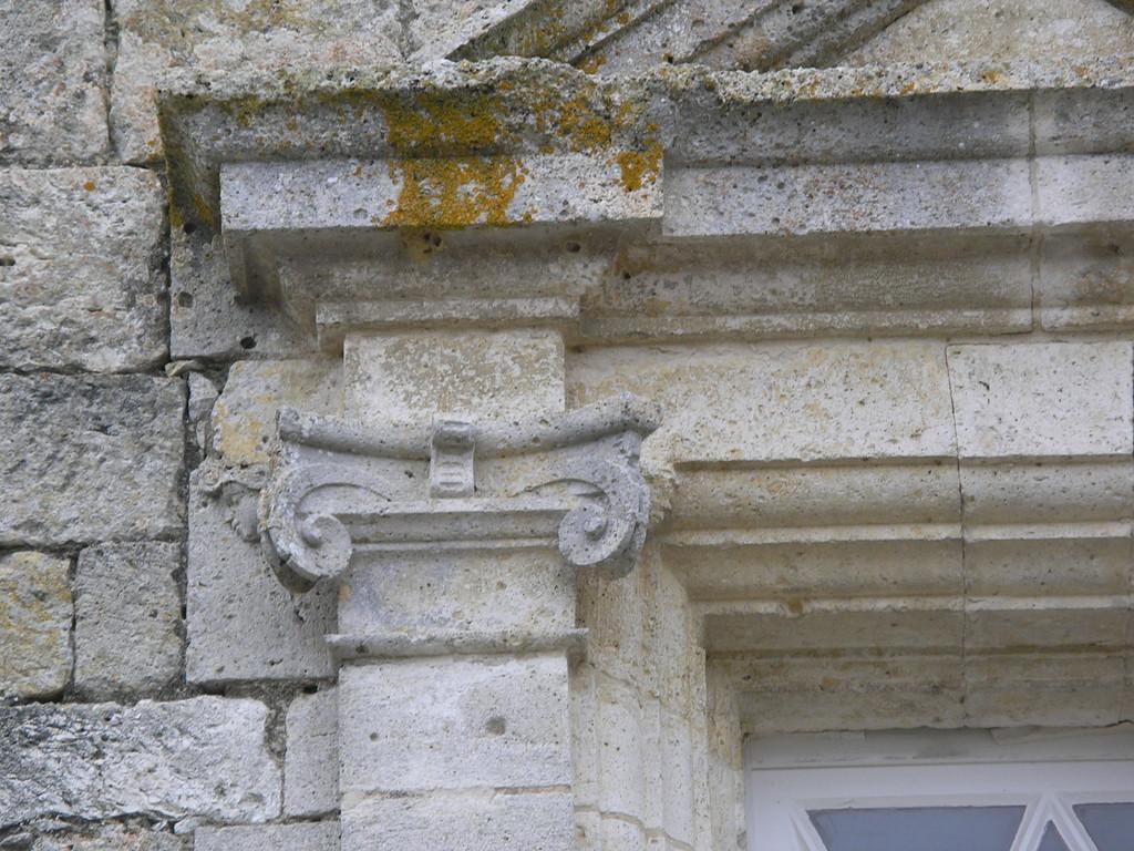 Un détail du château de Gramont
