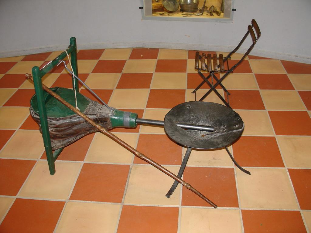 Les forges de Pyrène : un barbecue d'autrefois...