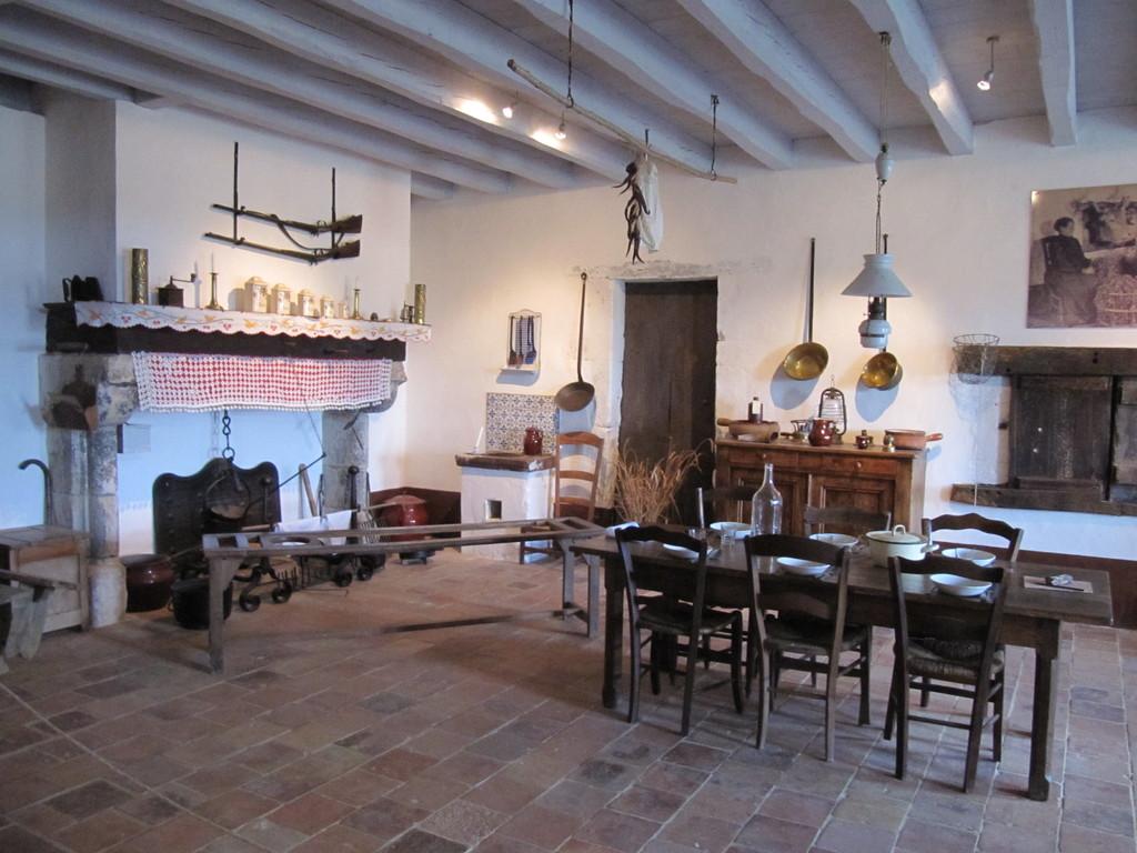 Musée de la Chalosse à Monfort : cuisine du 19e siècle