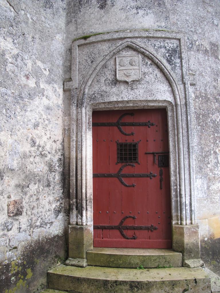 Le château de la Brède : une des portes.