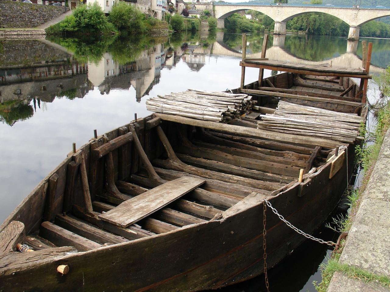 Argentat : le courpet sur la Dordogne