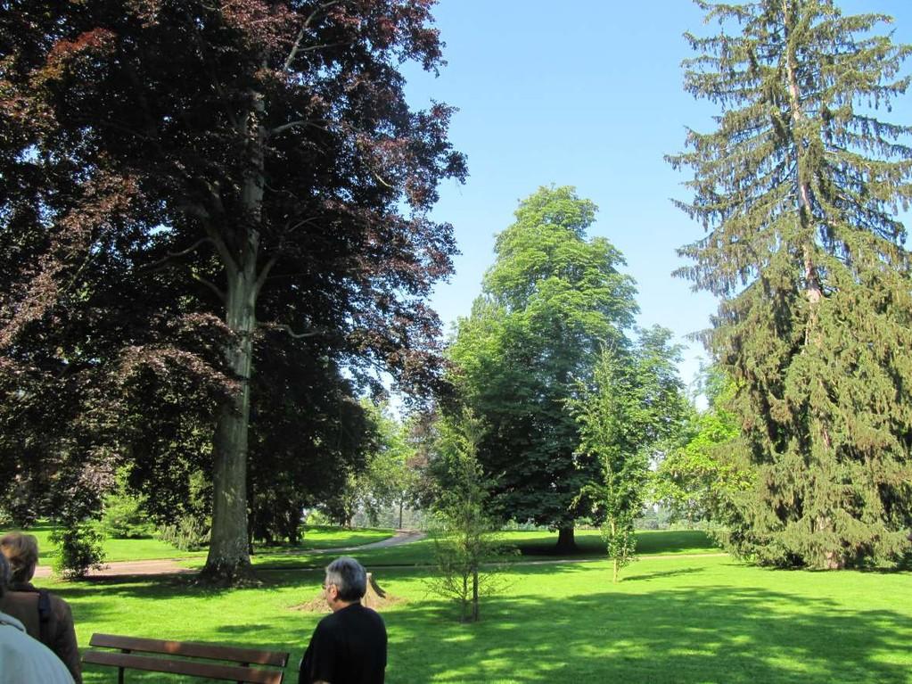 Le parc Napoléon à Vichy