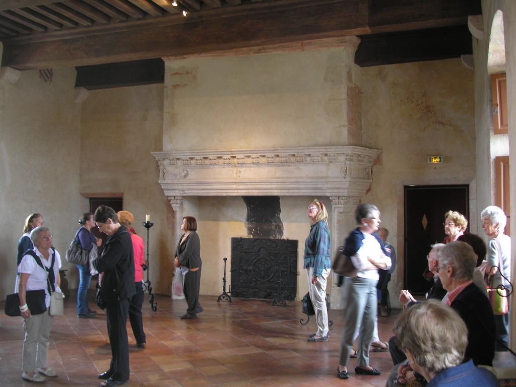 La grande salle du château de Gramont