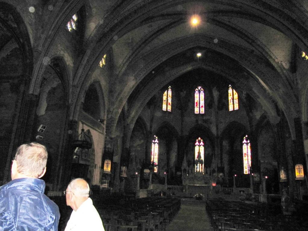 Mirepoix : l'ancienne cathédrale Saint Maurice