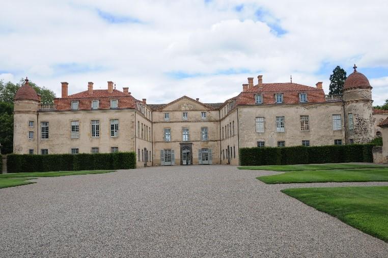 Le château de Parentignat
