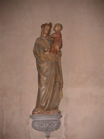 La Vierge à l'Oiseau (église du Marthuret) de Riom