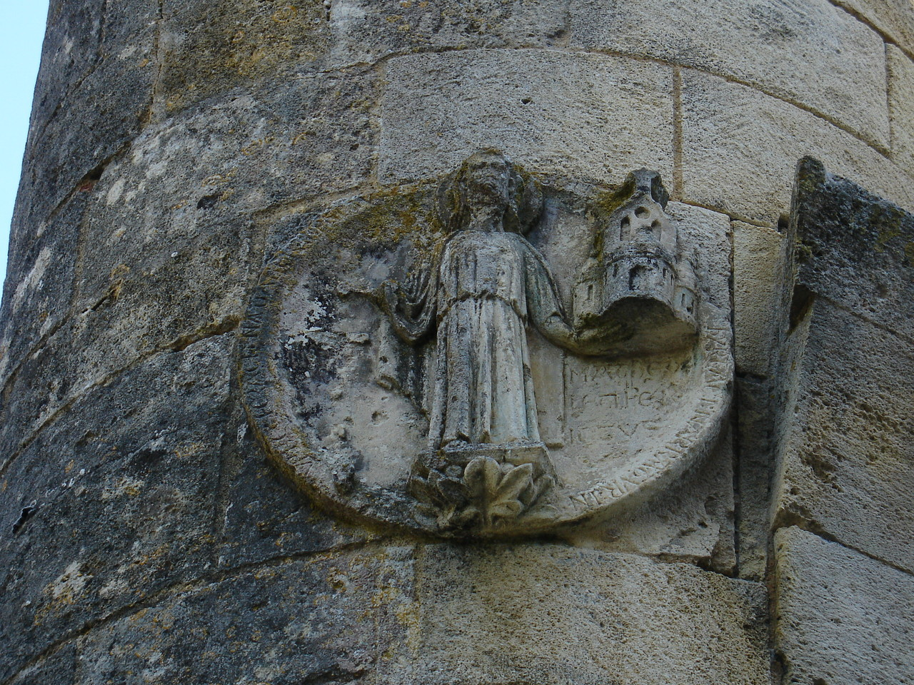 La Sauve : disque de consécration de l'abbaye Saint Mathieu