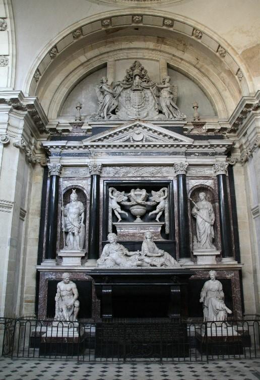 Moulins: le mausolée du Duc de Montmorency