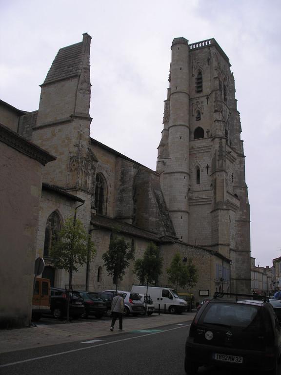 Lectoure : la cathédrale