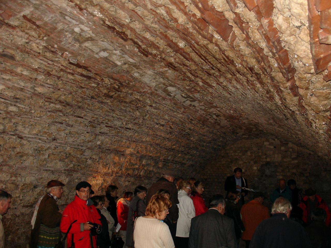Aiguillon : la cave du château Lunac