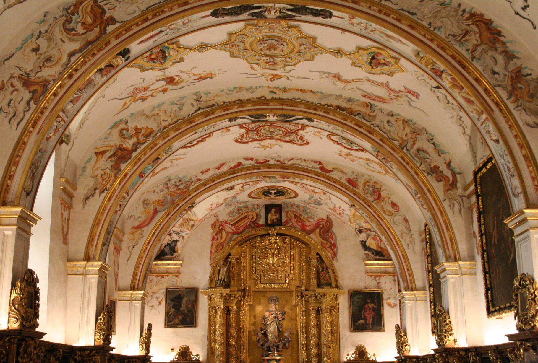 Yuso: monastère de San Millán de la Cogolla ( la sacristie )