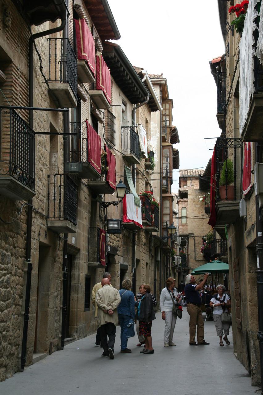 Laguardia: rue médiévale