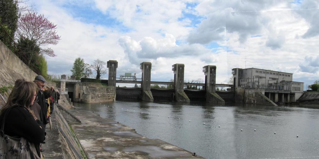 Castelmoron : barrage du Temple