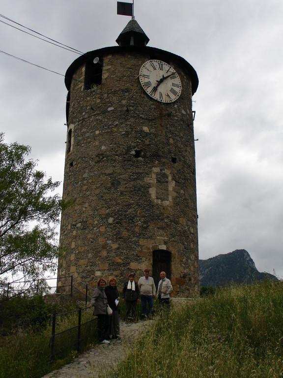 Tarascon : la tour de l'Horloge