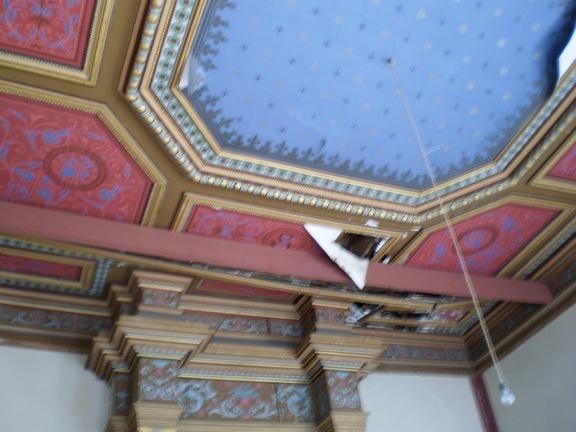 Castelmoron : intérieur du château Solar (mairie)
