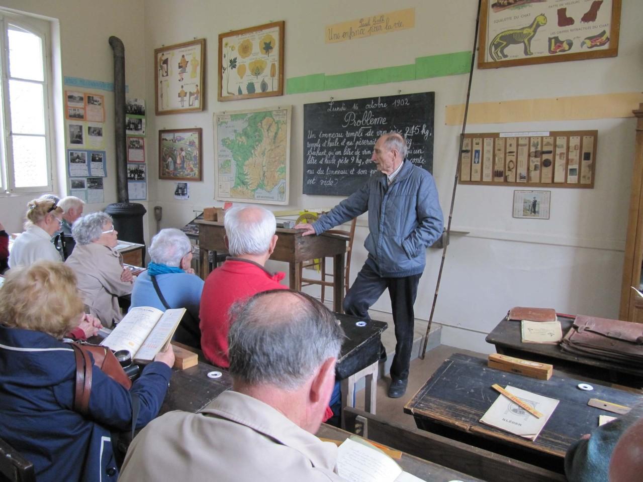 Saint-Pierre-de-Buzet : le musée de l'école