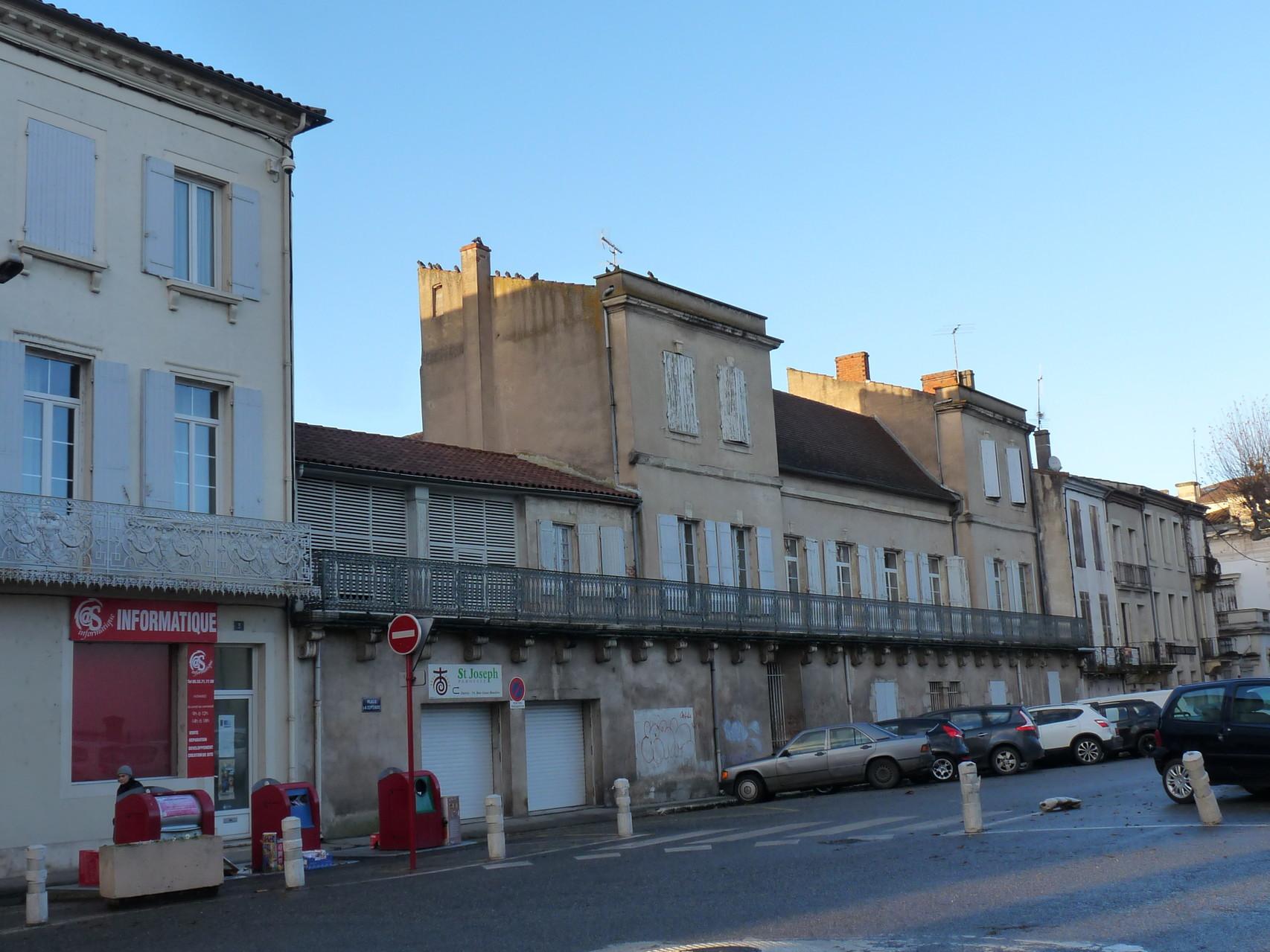 Villeneuve-sur-Lot : la maison de Mothe de Blanche