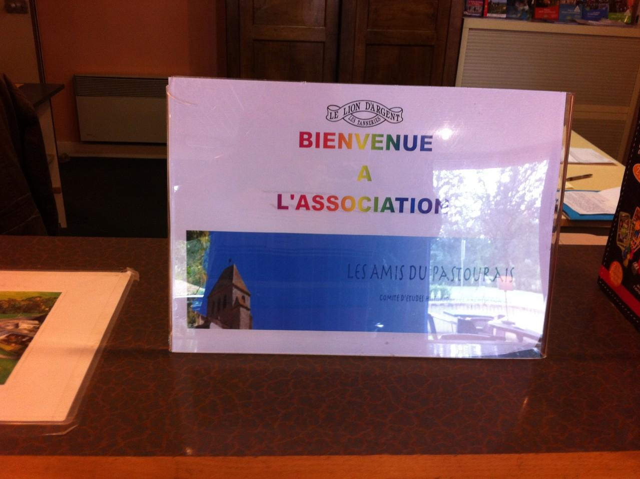 La Châtre, Hotel Lion d'Argent : on nous reçoit avec beaucoup d'attentions...
