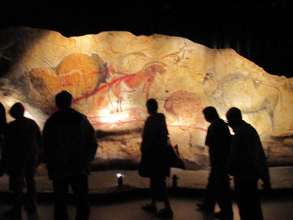 Parc de la Préhistoire près de Tarascon : fac-similé de la grotte de Niaux