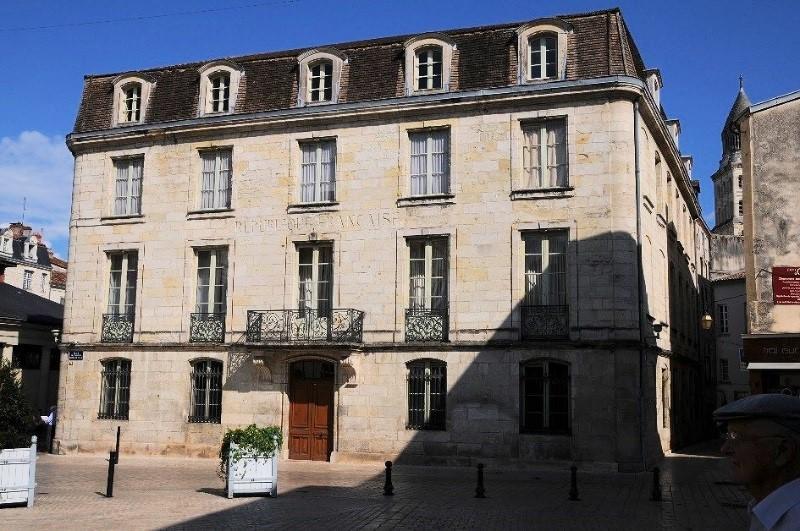 Périgueux: l'hôtel Lagrange de Chancel