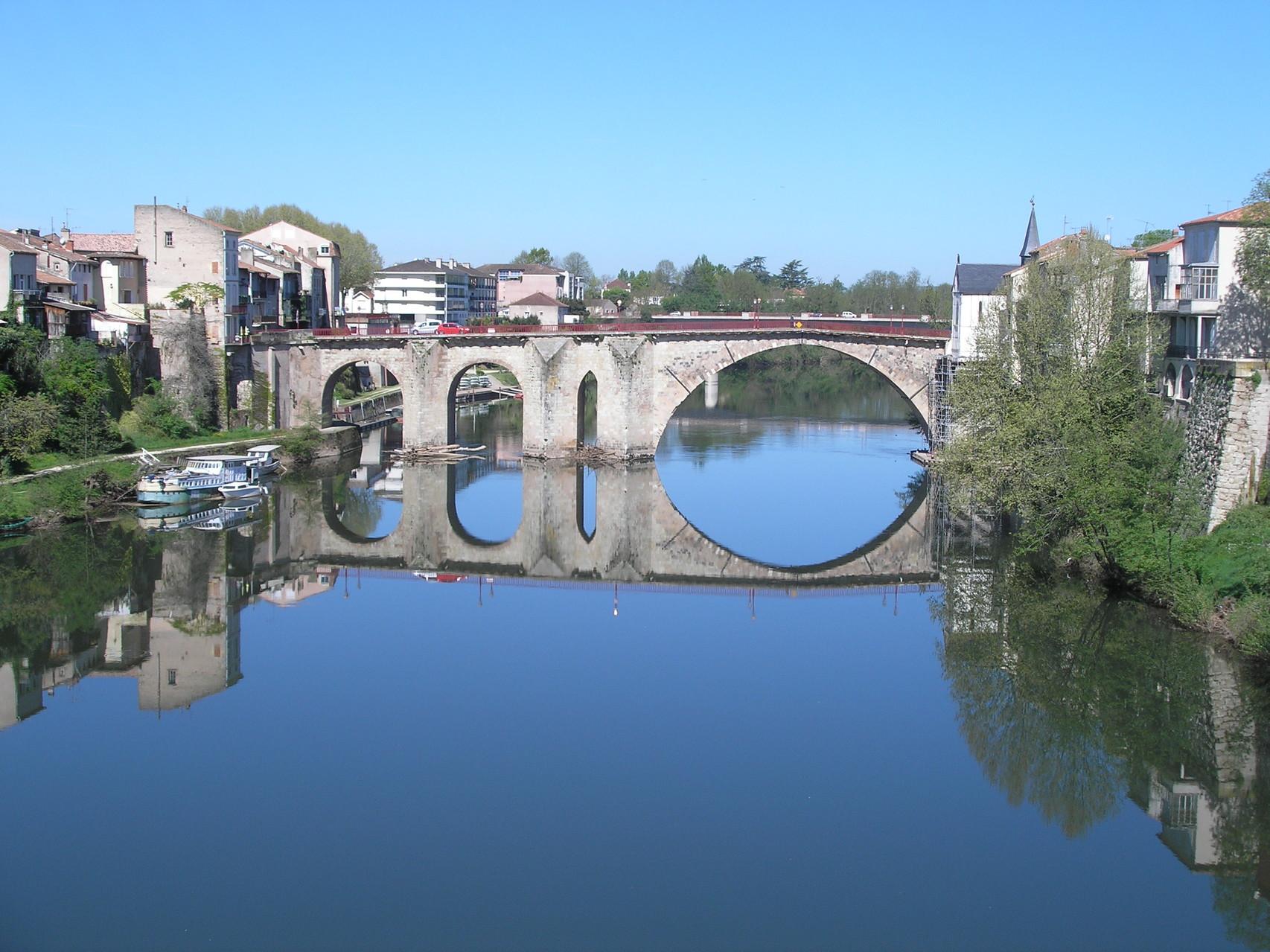 Villeneuve-sur-Lot : le Vieux Pont