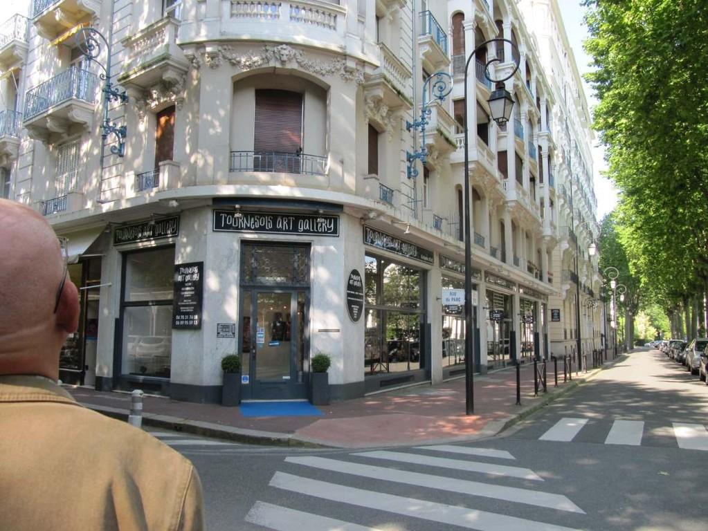 L'ancien Hotel du Parc à Vichy