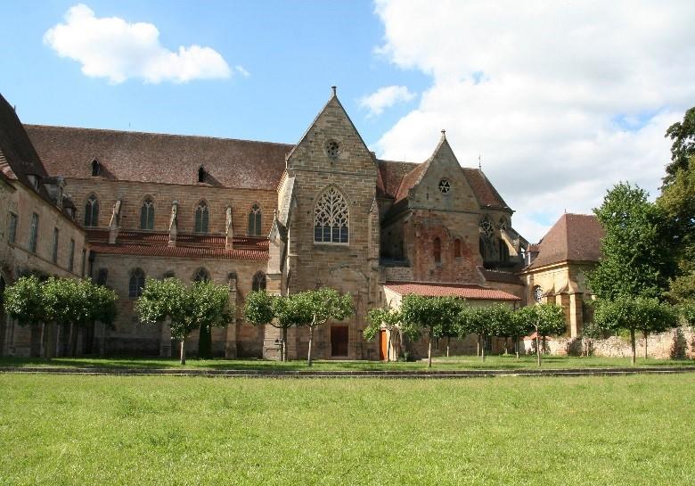 L'abbaye de Souvigny: l'ensemble Sud de l'église