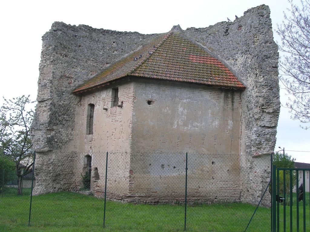 Eysses : la tour gallo-romaine (intérieur)