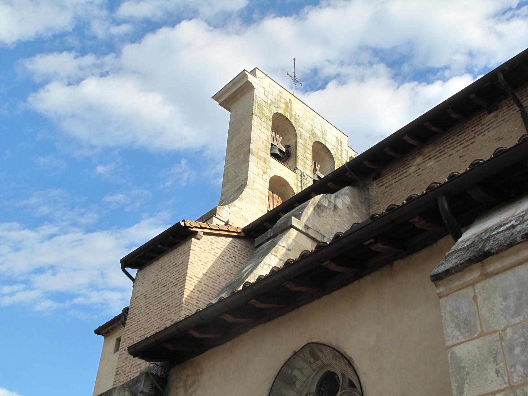 Villeneuve-sur-Lot : l'église St Etienne côté Sud