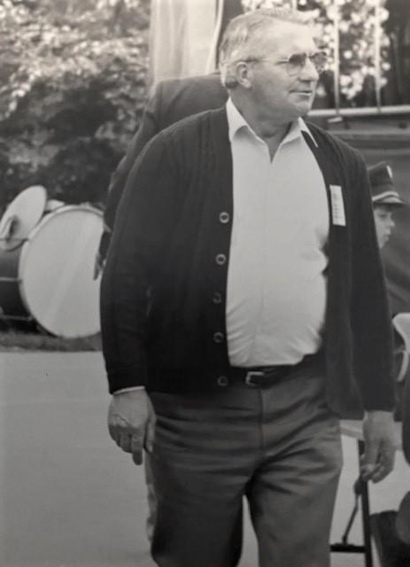 Winand Burbach, Ehrenvorsitzender Musikverein Birgden