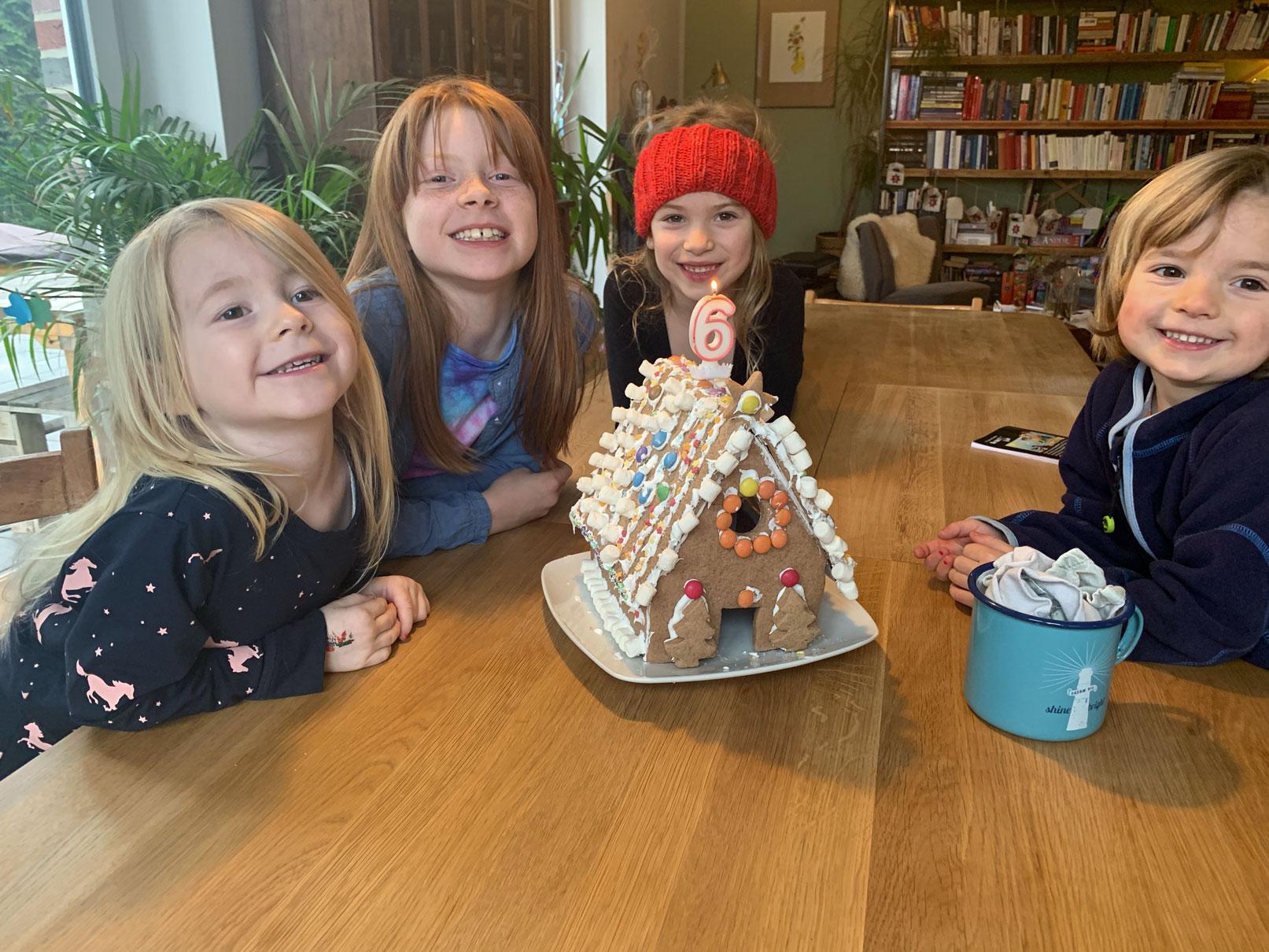 Überraschung: Fertigstellung von Haus 6 über die Feiertage